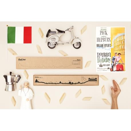 """Silhouette murale """"Rome """" par the Line"""