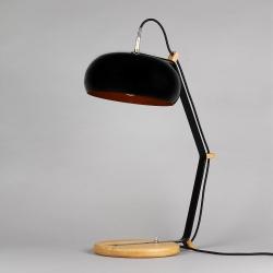 Lampe Rodha TBL noir/cuivre par Lampari