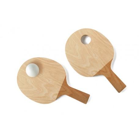 Coquetier ping pong par Pied de Poule