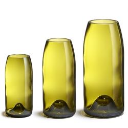 Vase Rire par Q de bouteilles