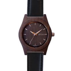 Montre en Noyer Bracelet cuir par Hyoga