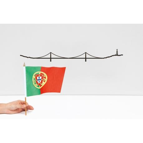 """Silhouette murale """"Lisbonne """" par the Line"""