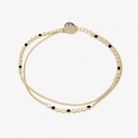 Bracelet  Molto multi noir par Judith Bénita