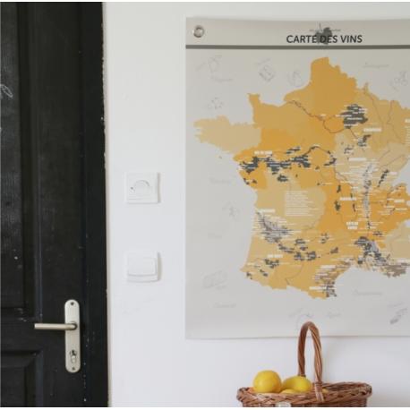 carte des vins par les Jolies Planches