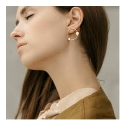 Boucles d'oreilles Margot  par Anne Thomas