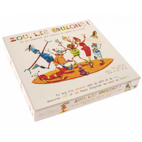 jeux Zou, les Boulons par Bellifcato