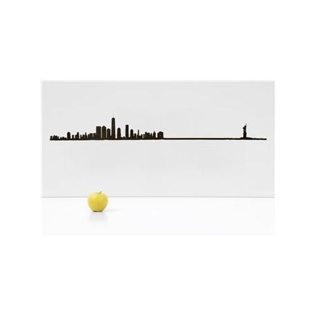 """Silhouette murale """"New York """" Grand Modèle par the line"""