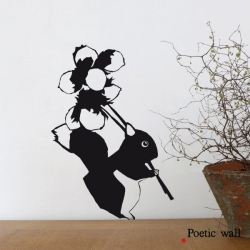 "Stickers ""Ecureuil"" par Poetic Wall"