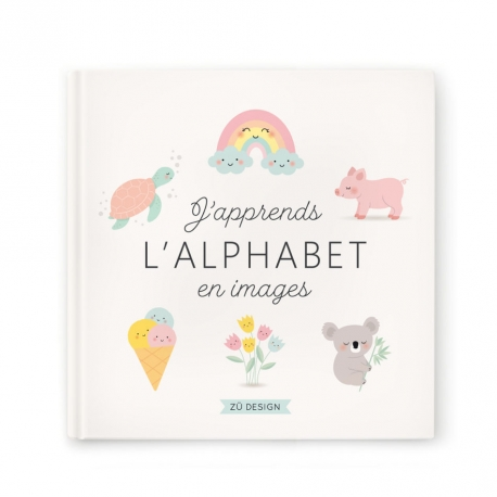 Livre j'apprends l'alphabet  par Zü