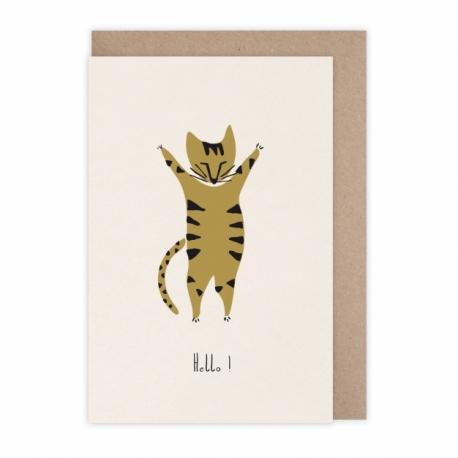 """Carte """" hello Tiger"""" par Monsieur Papier"""