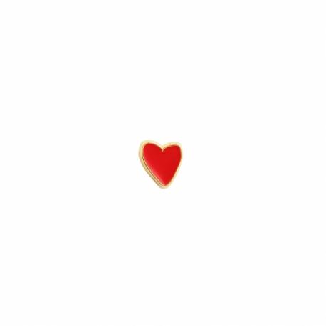 Pin's coeur par Monsieur Papier