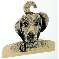 Cintre chien par Cocobohème