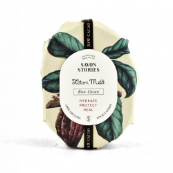 Baume solide cacao  brut  par Savons stories