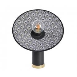 Lampe Gatsby Paon noir par Market Set