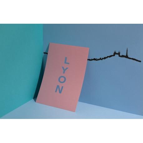 """Silhouette murale """"Lyon"""" par the Line"""