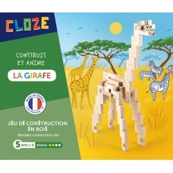 La girafe à construire par Cloze