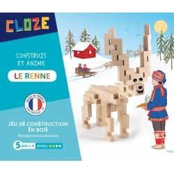 La renne à construire par Cloze
