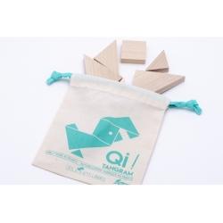 QI le tangram en bois par les Jouets Libres
