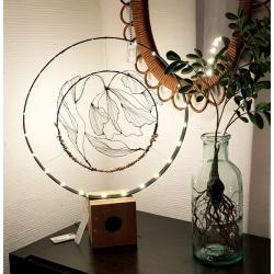 Lampe Pivoine d'Art par O Fil des Rêveries
