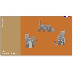 Lot 3 magnet chat par Tout Simplement