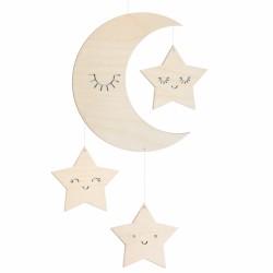 Mobile lune par Zü