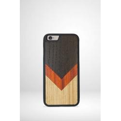 Coque téléphone en bois La Triade