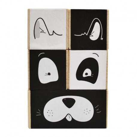 Cubes Frimousses par Paulette et Sacha
