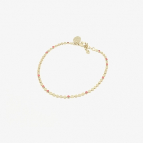Bracelet  Molto terracotta par Judith Bénita