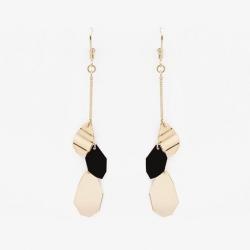 boucles d'oreilles Aloès noir par Judith Benita