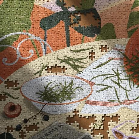 puzzle Les haricots verts par Jour férié