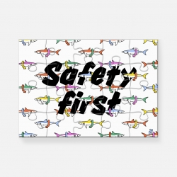 Puzzle Safety First par Pièce and Love