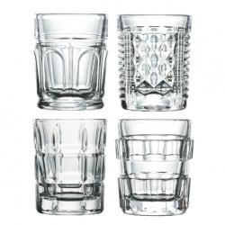 Coffret 4 verres à shooter after par La Rochère