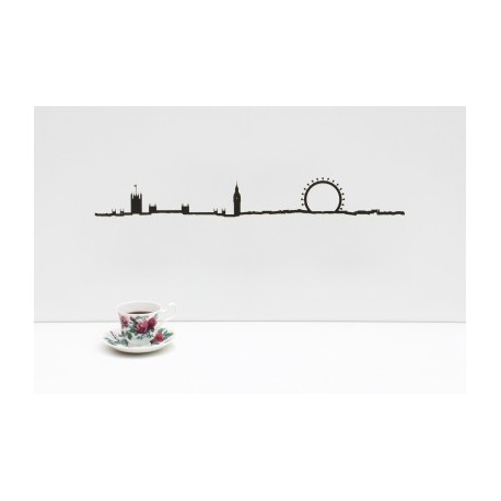"""Silhouette murale """"London """" par the Line"""