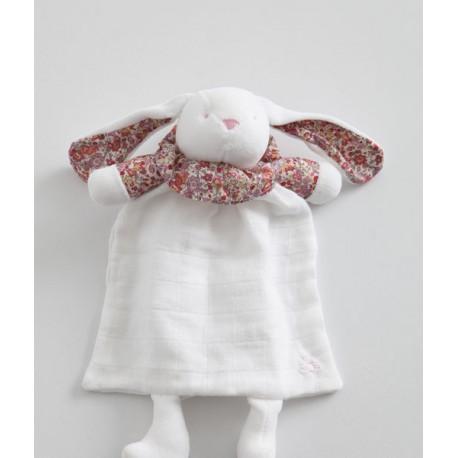 Doudou  lapin par Pamplemousse Peluches