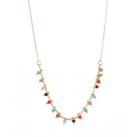 Collier Gipsy multico par Nilaï Paris
